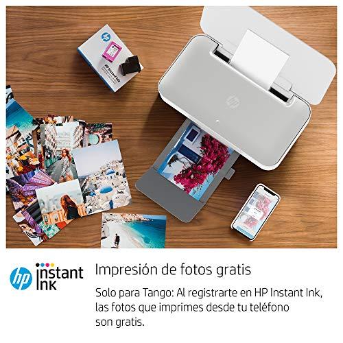 HP Tango - Impresora tinta, color, Wi-Fi, compatible con Instant Ink (2RY54B)