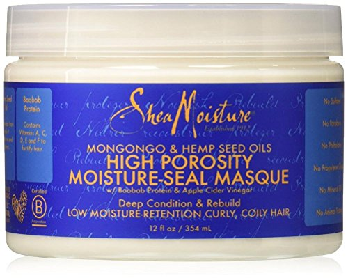 Shea Moisture High Porosity Moisture Correct Masque, 12 Ounce