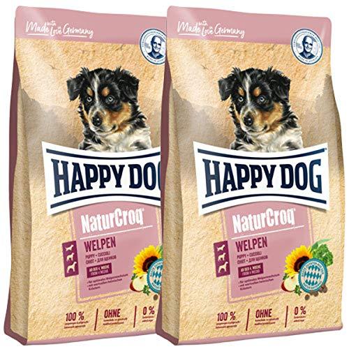 Happy Dog 2 x 15 kg NaturCroq Welpen