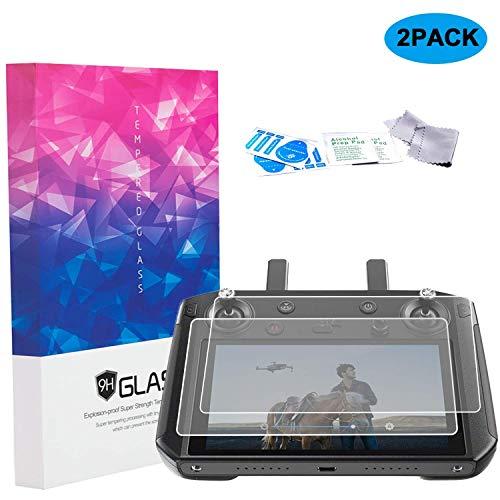 SKYREAT 2-Pack-Displayschutzfolie kompatibler DJI Smart Controller, gehärtetes Anti-Scratch-Glas mit 9H-Härte für Mavic 2 Smart Controller