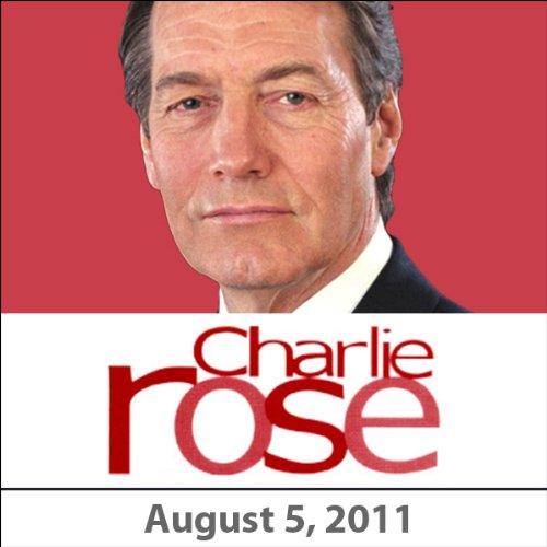Charlie Rose: Greg Ip, Gillian Tett, Rupert Wyatt, James Franco, and Freida Pinto, August 5, 2011 audiobook cover art