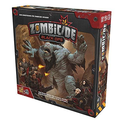 Asmodee CMON CMND1214 Zombicide: Invader - Black Ops Erweiterung, Experten-Spiel, Deutsch