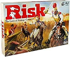 Attack once, many times, or not at all Reference cards keep you moving Earn troops and attack your opponents Defend your territories when your opponents attack Gameboard, 5 armies with 40 infantry, 12 cavalry, and 8 artillery each, deck of 43 cards, ...