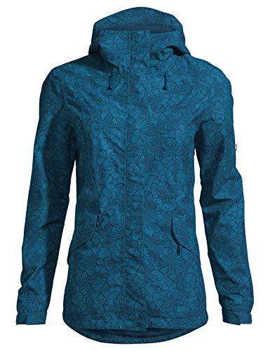 Vaude Damen Jacke Women's Rosemoor Aop Jacket, Kingfisher, 40, 42007