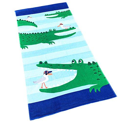 Jungen Mädchen Kinder Badetuch - Kinder 100{9bd10211e0d96b8eec7efd5d45c765f870ac701ca59f3b3e26a34b0feac3fd4f} Baumwolle Sport Handtuch Cartoon Decke Schwimmen Surfen Wandern Reisen