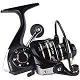 Deukio Fishing Spinning Reel sea Rod Fishing Tackle Light Weight, Ultra Smooth Powerful, Stainless Ball Bearings for Saltwater or Freshwater (AC2000-11LBs Drag Power)