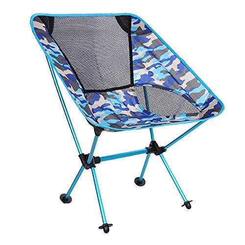 Outdoor Portable Light Camp Chair, Folding Beach Chair, Carrying Case, Compact And Heavy Duty 150 Kg For outdoor, indoor
