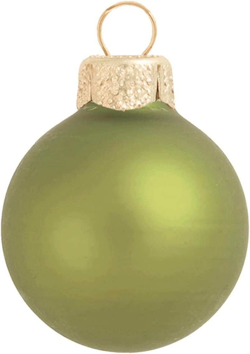 4ct Green Matte Glass Christmas 120mm Max 64% OFF All items in the store 4.75