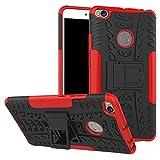 Funda para Xiaomi Mi Max 2, funda híbrida para Xiaomi Mi Max 2, protección de doble capa a prueba de golpes híbrido resistente carcasa rígida con soporte para Xiaomi Mi Max 2