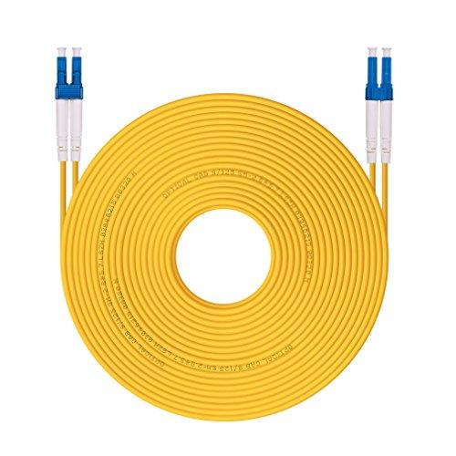 H!Fiber.com Cable de conexión de Fibra LC a LC LC 9/125 dúplex...