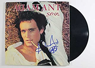 Adam Ant Signed Autographed