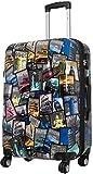 Reisekoffer City Trolley Koffer Bowatex Polycarbonat Hartschale Bunt 67 cm L