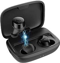 TX Best Wireless Earbuds Bluetooth 5.0 Ear Buds Wireless Headphones with 3000mAh Charging Case - Earphones Designed for Sport - Hi-Fi Well-Balanced Sound, Deep Bass, IPX7 Waterproof, Microphone