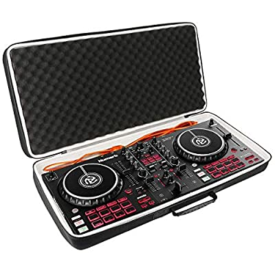Khanka Hard case Carrying bag for Numark Mixtrack Pro 3/Pro FX | All-In-One 2-Deck DJ Controller.(Case only)
