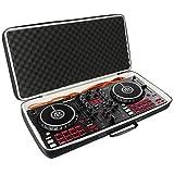 Khanka Duro Viaje Estuche Bolso Funda para Numark Mixtrack Pro 3 Controlador DJ de 2 Decks para...