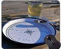地図賭博のマウスパッド、魔法の海上ゴム製マウスパッドとのコンパス