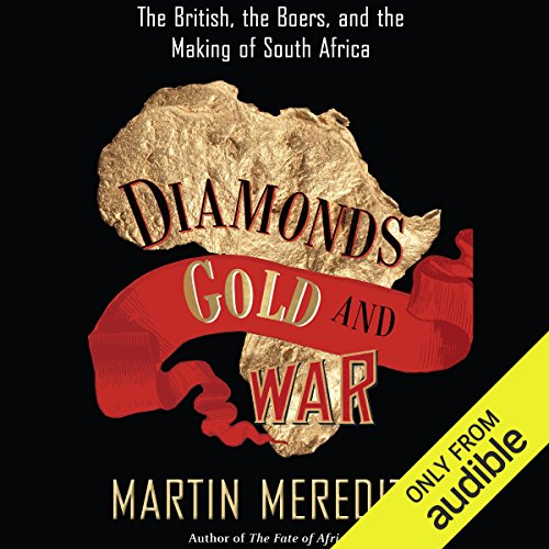 Diamonds, Gold, and War audiobook cover art