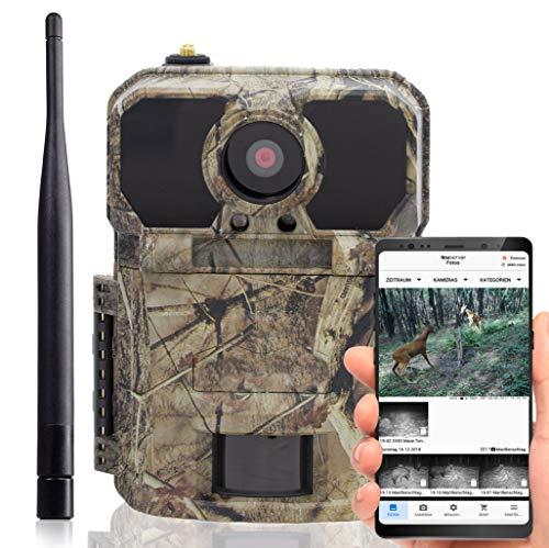 Fototrappola infrarossi Invisibili icucam 4G Lite - Fotocamera da Caccia - 4000 Coins con Ogni Nuova Telecamera 4G - con sim con rilevatore di Movimento, Vision Notturna