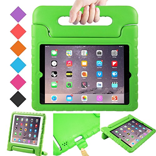 BMOUO iPad 2 3 4 Shockproof Case Light Weight Kids Case Super Protection Cover Handle Stand Case for Children for iPad 4, iPad 3 iPad 2 2nd 3rd 4th Generation, Green