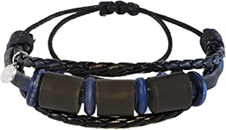 Shark OFF Shark Repellent Bracelet Surfwear Jewelry – Repel Sharks with Our Patented Deterrent Leather Bracelet - Ocean Safety for The Whole Family – Must Have Beach Essential (The Bimini Style)
