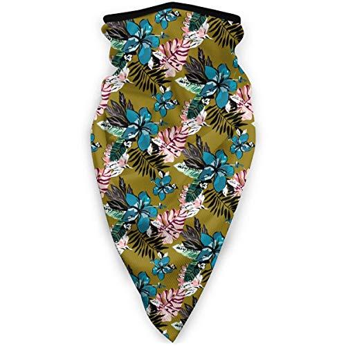 July zachte romans van planten en vogels Amerikaanse gezichtsmondmasker winddichte bandana's voor festivals sjaal bandana