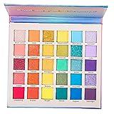 Obelunrp Productos De Belleza Asequibles Paletas Sombra De Ojos Glitter Estera 30 Tonos De Colores del Color del Contorno De Concealer del Maquillaje De La Herramienta