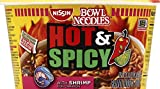 Nissin Bowl Noodles Hot & Spicy With Shrimp
