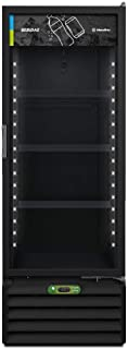 Refrigerador Expositor Metalfrio All Black 350 Litros com Controlador Eletrônico Vb40re 220v 220v
