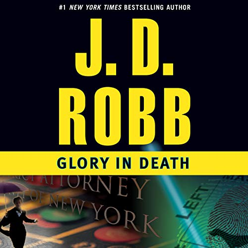 Glory in Death audiobook cover art