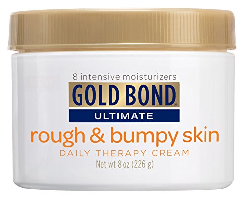 Gold Bond Ultimate Rough & Bumpy Skin Cream 8 Ounce Jar (236ml) (6 Pack)