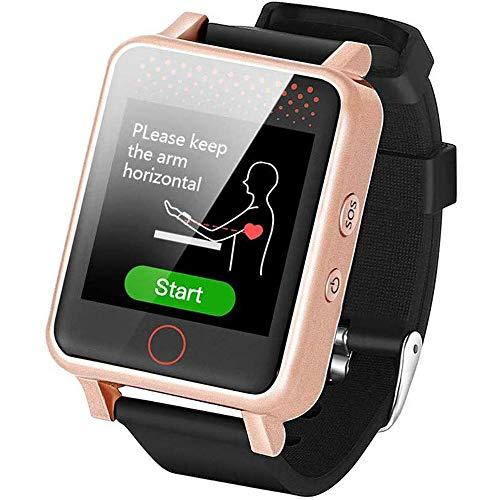 Ancianos GPS Anti-Pérdida Reloj Inteligente Tienen De Llamada De Emergencia SOS Y Medición De La Presión Arterial del Ritmo Cardíaco Función