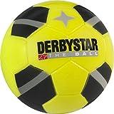 Derbystar fútbol Mini Soft, Pelota del Envío 23cm, Negro, Amarillo, 2051