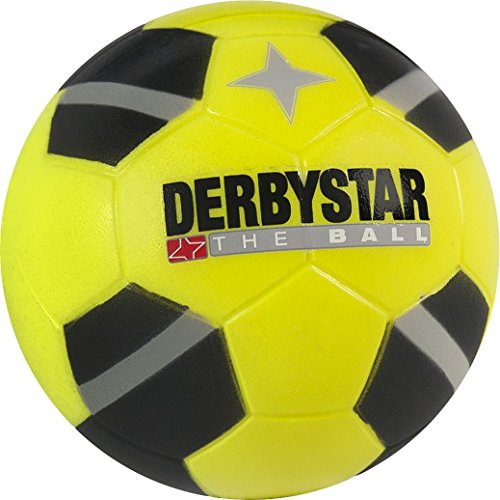 Derbystar fútbol mini Soft, Negro, Amarillo, 2051