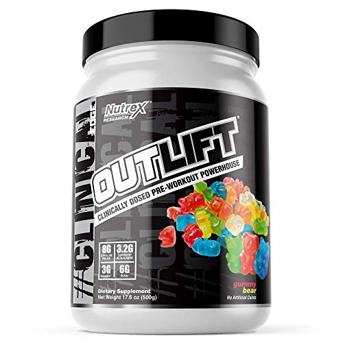 Nutrex Research Outlift Clinical Edge (20 Serv) 1 Unidad 500 g