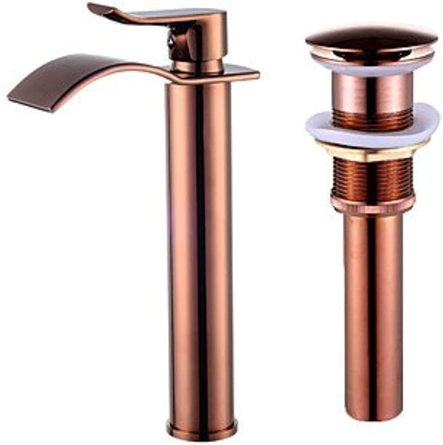 Single Handle One Hole forpink gold