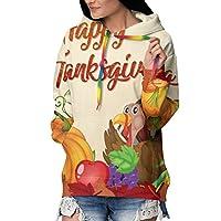 感謝祭の七面鳥 パーカー レディース トレーナーパーカー おしゃれ プラスベルベット 厚くする フーディ 長袖 フード付き ポケット付き カジュアル プルオーバー パーカー