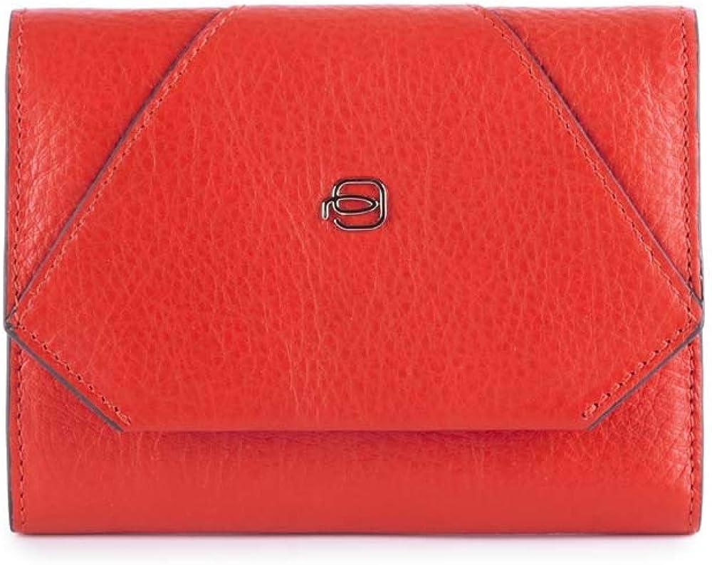 Piquadro splash, portafoglio, porta documenti, porta carte di credito per donna, in pelle PD4145MUR