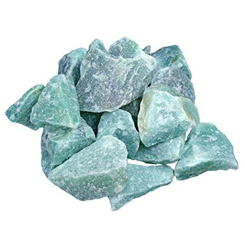 Piedras de aventurina verde, 100% natural, 300 gramos
