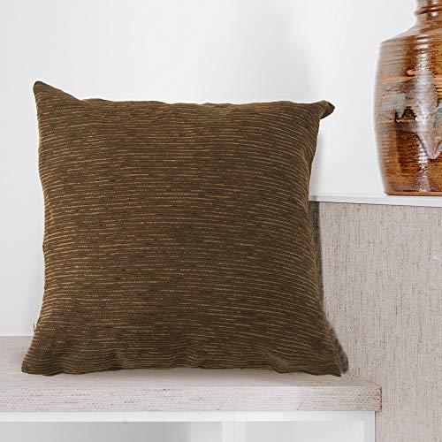BCASE Funda Fantasy Cojin 45x45 cm, Funda Cojin Decorativa, 100% Poliéster, Suave y Moderna para Habitación, Sofá, Cama etc Color Marrón