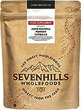 Sevenhills Wholefoods Cápsulas de polvo de Ashwagandha Orgánico - 120 x 500mg