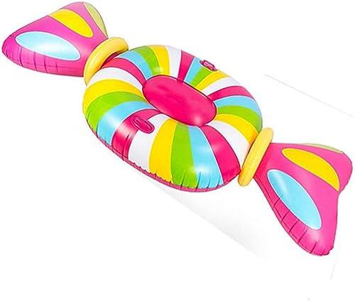 Aufblasbare schwimmende Reihe, Riesen Sü keiten aufblasbare Ring Float Matratze Sommer Wasser Sport Erwachsene schwimmende Reihe Schwimmen Dekorationen Spielzeug für Erwachsene Kinder