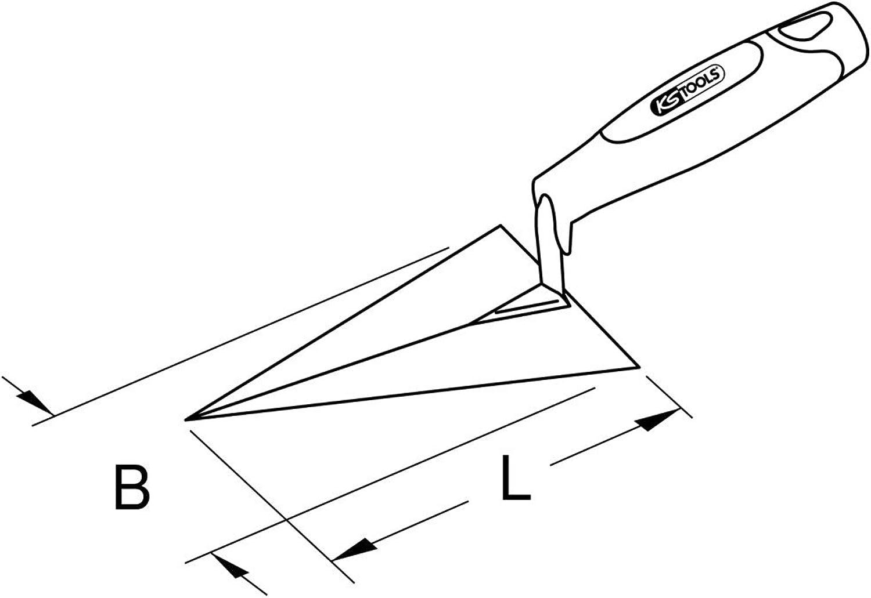 KS Tools 963.9550 BRONZEplus BRONZEplus BRONZEplus Maurerkelle 130 mm B00QU7O4H2  Modisch c87edf