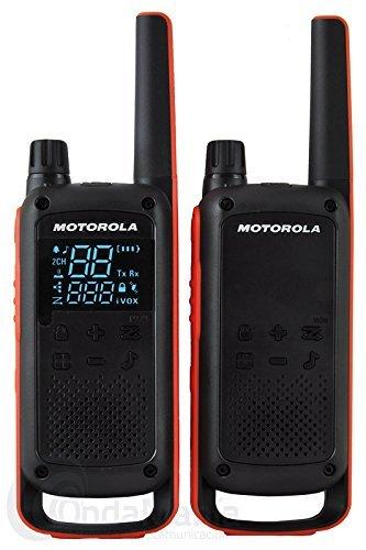 MOTDB PMLN7705AR Motorola Talkabout Two-Way Radio Throat Mic Headset with Ptt//Vox Motorola Consumer Radios