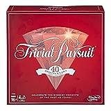 Trivial Pursuit E1923102 40th Anniversary Ruby Edition, multicolor, Versin Inglesa
