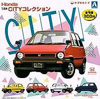 1/64 Honda CITY コレクション 全4種セット ガチャガチャ