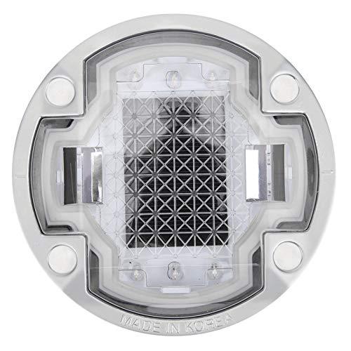 Lámpara de tierra impermeable LED Lámpara de punta de tierra enterrada reflectante doble, para vehículos guía