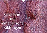 Gesteine und mineralische Bildungen (Wandkalender 2022 DIN A4 quer): Die zauberhafte Welt der Steine und Mineralien (Monatskalender, 14 Seiten )
