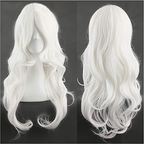 comprar pelucas mujer blanca larga online