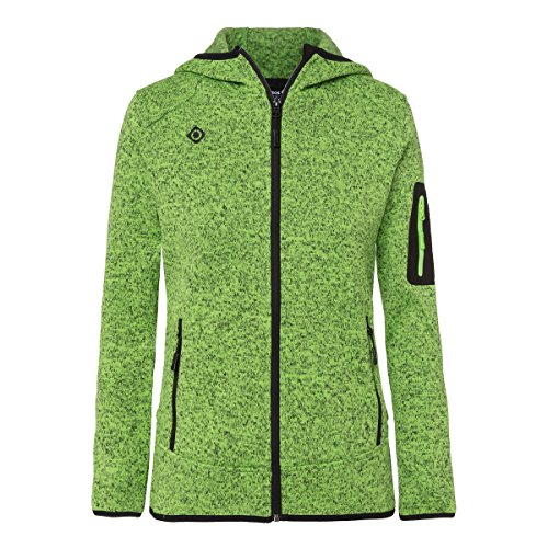 Izas Lucania Chaqueta de montaña, Mujer, Verde (Light Green), M