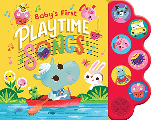 Playtime Songs (Interactive Children's Song Book with 6 Sing-Along Tunes)